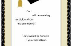 Graduation Invitation Cards Printable