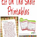 40 Fun & Creative Christmas Elf On The Shelf Printables • Glitter 'n | Elf On A Shelf Printable Cards