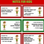 40 Printable Elf On The Shelf Notes For Kids | Elf On A Shelf Printable Cards