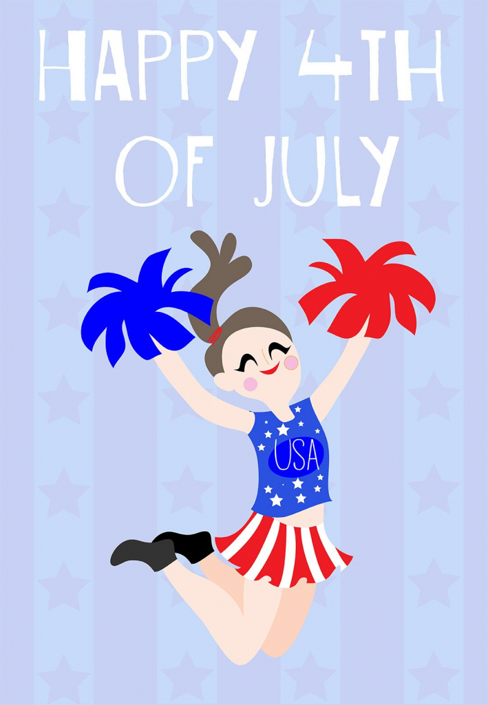 4Th Of July #card - Free Printable | 4Th Of July Party Ideas | 4Th | Happy 4Th Of July Cards Printable