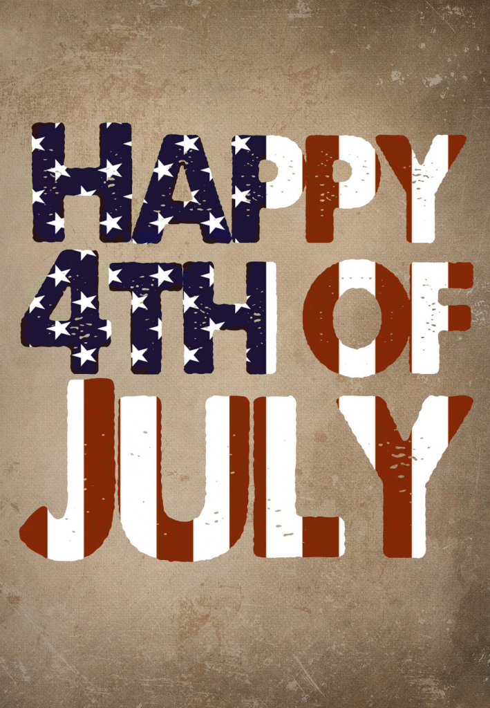 4Th Of July Vintage - 4Th Of July Greeting Card (Free)   Greetings   Happy 4Th Of July Cards Printable