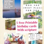 5 Free Printable Christian Birthday Cards | Printable Religious Greeting Cards