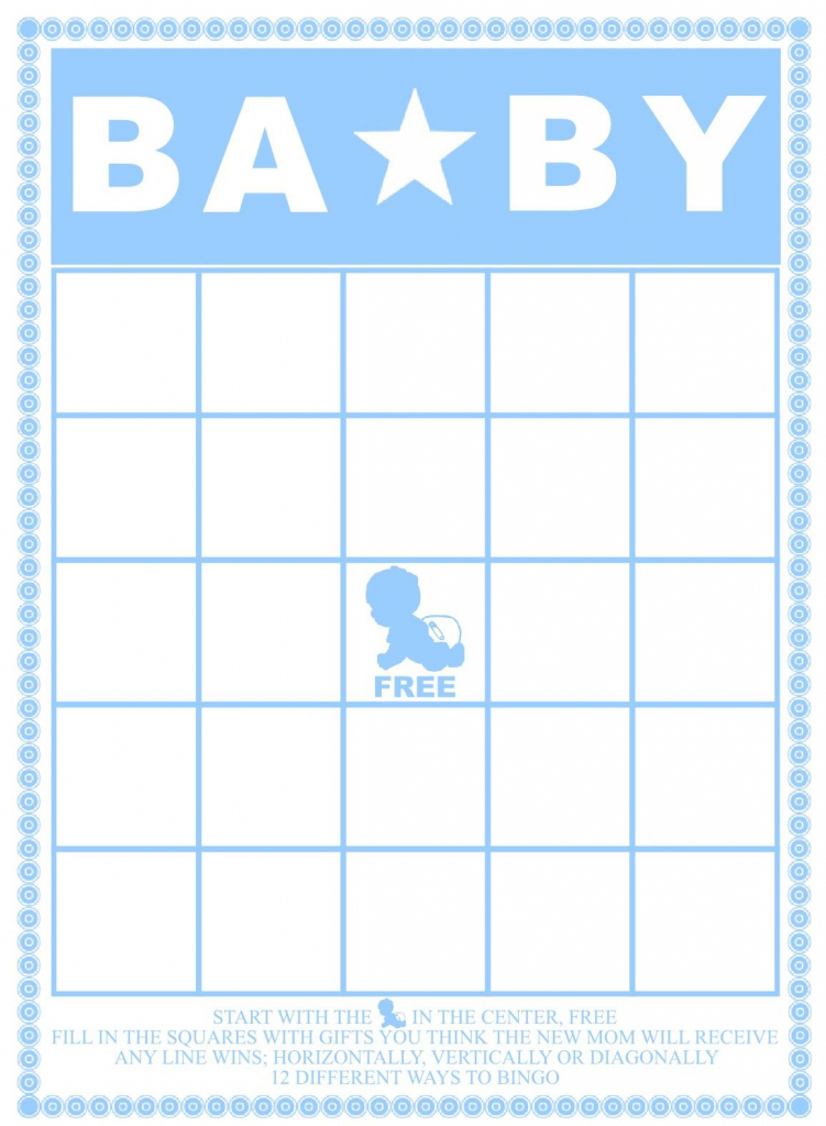 50 Free Printable Baby Bingo Cards (72+ Images In Collection) Page 1 | 50 Free Printable Baby Bingo Cards