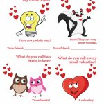 50 Free Printable Valentine's Day Cards | Free Printable Valentines Day Cards For Parents