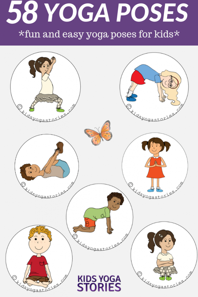 58 Fun And Easy Yoga Poses For Kids (Printable Posters) | Abc Yoga Cards Printable
