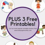 58 Fun And Easy Yoga Poses For Kids (Printable Posters) | Classroom | Printable Yoga Cards For Kids