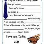 6 Easy Diy Father's Day Gift Ideas   I ❤ Dad Crafts   Father's Day   Free Printable Fathers Day Cards For Preschoolers
