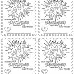 6 Free Printable, Color Your Own Valentines That Make The Perfect   Free Printable Color Your Own Cards
