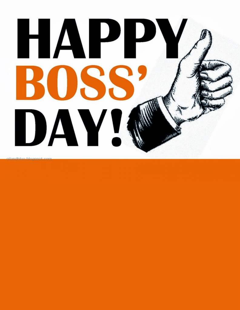 60 Most Beautiful National Boss Day 2017 Greeting Picture Ideas | Bosses Day Cards Printable