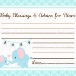 7 Best Images Of Mom Advice Cards Free Printable Owl Schluter Kerdi | Free Printable Baby Shower Cards Templates