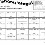 7 Questions Talking Bingo With Role Play Cards Worksheet   Free Esl | Esl Bingo Cards Printable