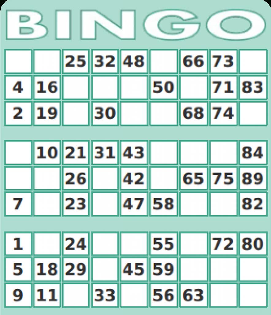 75 Number Bingo Card Generator | Print - 2019-02-08 | Free Printable Bingo Cards With Numbers