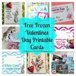 8 Free Frozen Valentines Day Printable Cards   Domestic Mommyhood | Frozen Valentine Cards Printable
