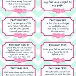 8 Free Printable Verse Cards On Wisdom, Memory Verse Cards | Free Printable Bible Verse Cards