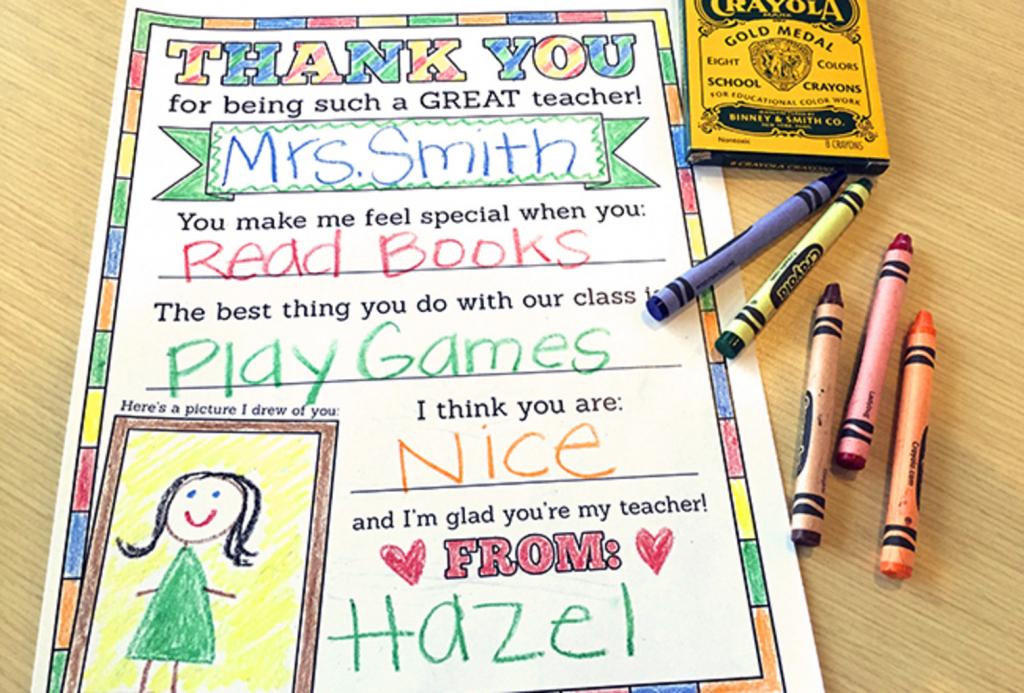 8 Of The Best Teacher Appreciation Printables | Cool Mom Picks | Free Printable Teacher Appreciation Greeting Cards