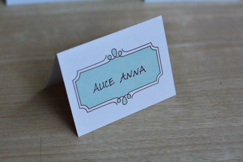 8 Sets Of Wedding Place Card Templates | Printable Wedding Place Cards