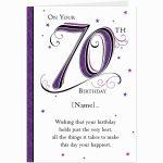 85+ 70Th Birthday Ecards   Happy 70Th Birthday Card, Special Cards 3 | Printable Funny 70Th Birthday Cards