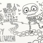 9 Fun Free Printable Halloween Coloring Pages   Printable Halloween | Printable Halloween Cards To Color For Free