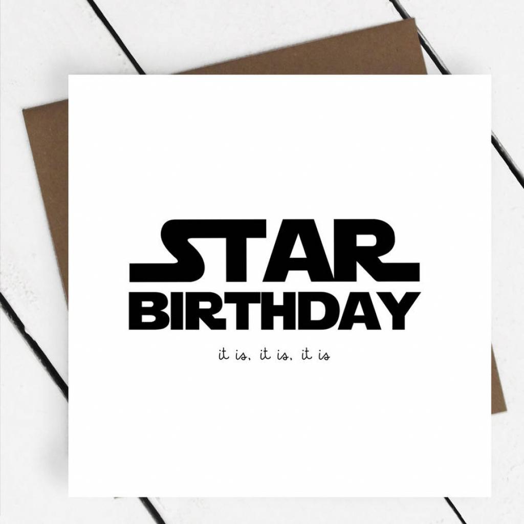 94+ Star Wars Birthday Ecard - Dark Birthday Cards Funny Card | Star Wars Birthday Card Printable