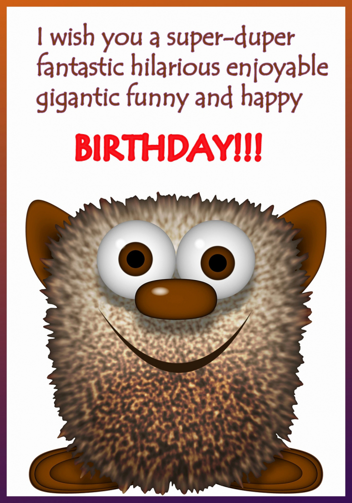 96+ Printable Funny Birthday Cards For Adults - Printable Funny | Free Printable Funny Birthday Cards For Coworkers
