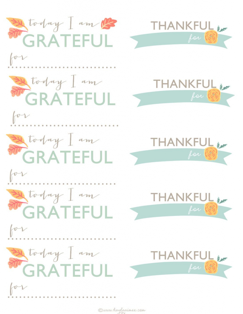 A Thanksgiving Tradition: Diy Gratitude Jar + Printable Thankful | Pastor Appreciation Cards Free Printable