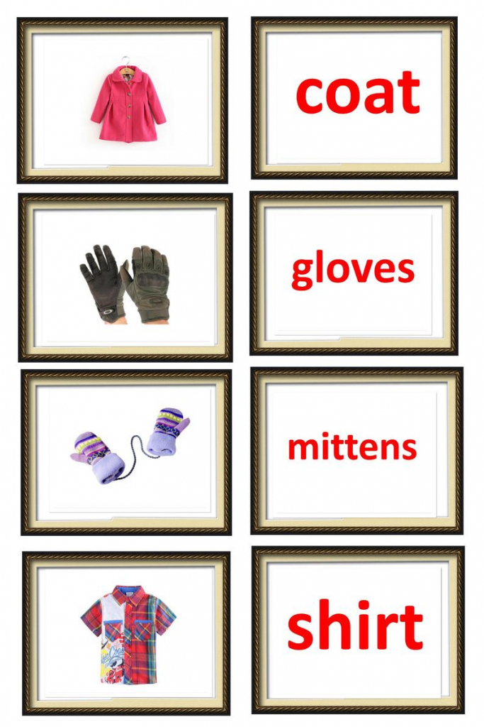 A4 Pdf Flash Cards: Things At Home. Printable Flashcards. | Etsy | Glenn Doman Flash Cards Printable