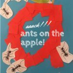 Aaack!!! Ants On The Apple!   Letter A Craftkidz Activities | Ants On The Apple Printable Cards