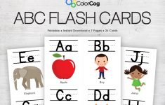 Printable Tagalog Alphabet Flash Cards