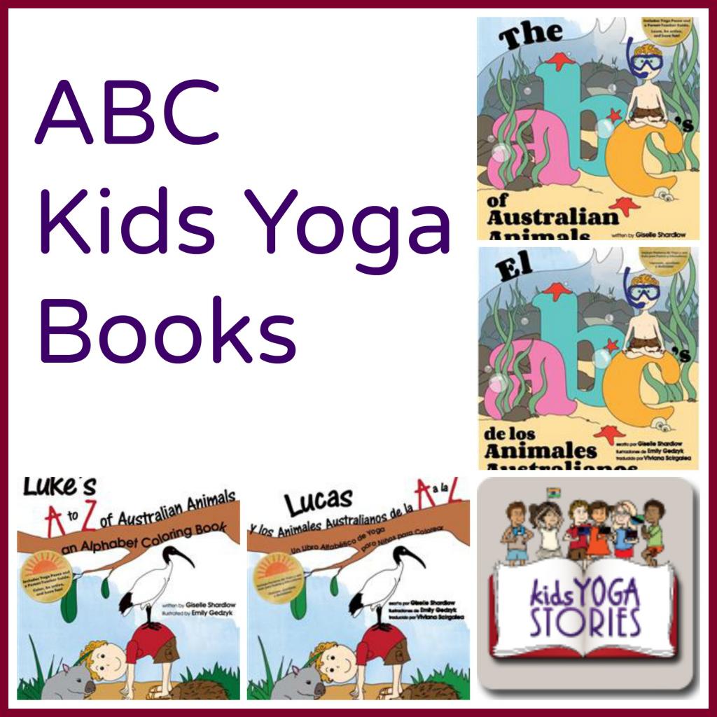 Abc Of Yoga For Kids – Yoga Poses For Beginners | Abc Yoga Cards Printable