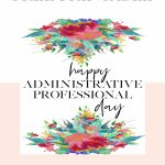 Administrative Professionals Cards Printable Free | Free Printables | Administrative Professionals Cards Printable Free