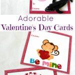 Adorable Preschool Valentine's Day Cards (Free Printables | Free Printable Valentine Cards For Preschoolers