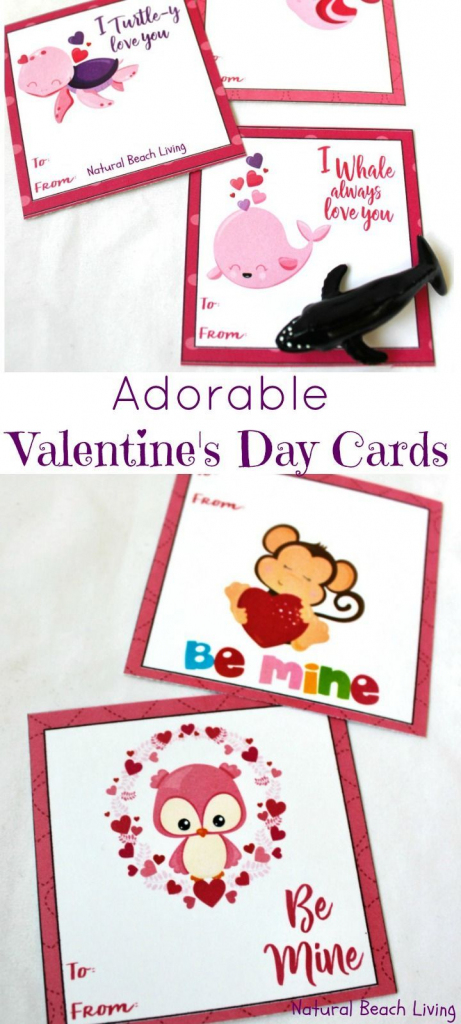 Adorable Preschool Valentine's Day Cards (Free Printables | Free Printable Valentine Cards For Preschoolers