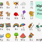 Alphabet Flashcards Printables | A Glimpse Inside | Printable Alphabet Flash Cards