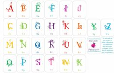 Upper And Lowercase Letters Printable Flash Cards