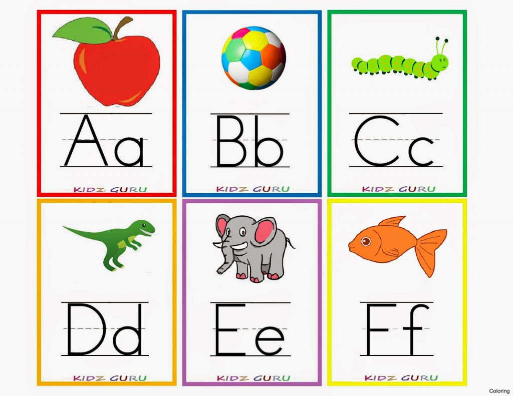 Alphabets With Pictures Printables – Letter A Picture Cards Also | Free Printable Alphabet Flash Cards