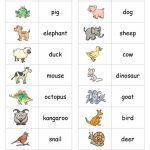 Animal Dominoes Worksheet   Free Esl Printable Worksheets Made | Animal Matching Cards Printable