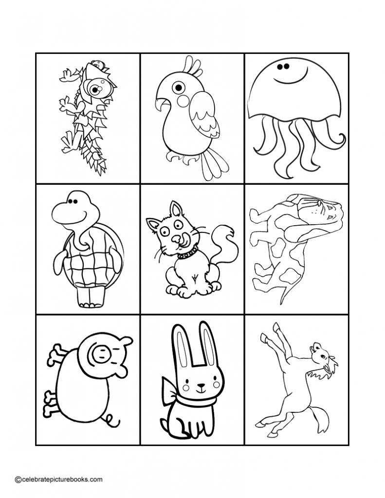 Animal Match-Up Card Game | | Animal Matching Cards Printable