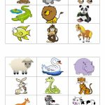 Animals Bingo Cards Worksheet   Free Esl Printable Worksheets Made | Free Printable Animal Cards