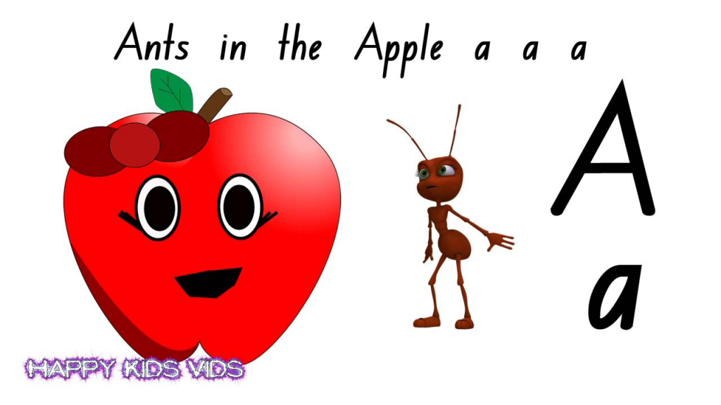 Ants In The Apple Alphabet Phonics Song (Australian Version) - Youtube | Ants On The Apple Printable Cards
