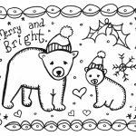 Art Is Basic   Art Teacher Blog: Free Printable Holiday Card To Color | Printable Christmas Cards To Color