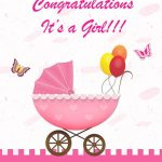 Attractive Baby Shower Greeting Card Free Printable Wblqual Com   Baby Greeting Cards Printable