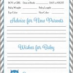 Baby Boy Cards Printable   Under.bergdorfbib.co | Baby Shower Printable Prediction Cards