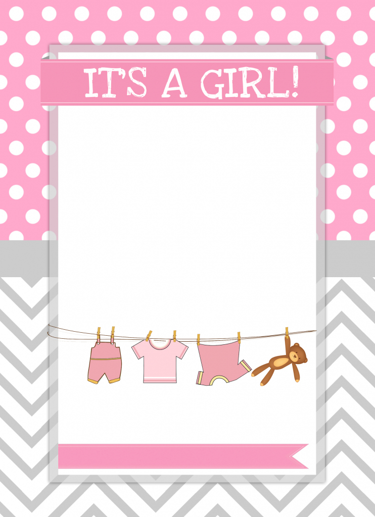 Baby Girl Shower Free Printables - How To Nest For Less™ | Baby Girl Card Printable