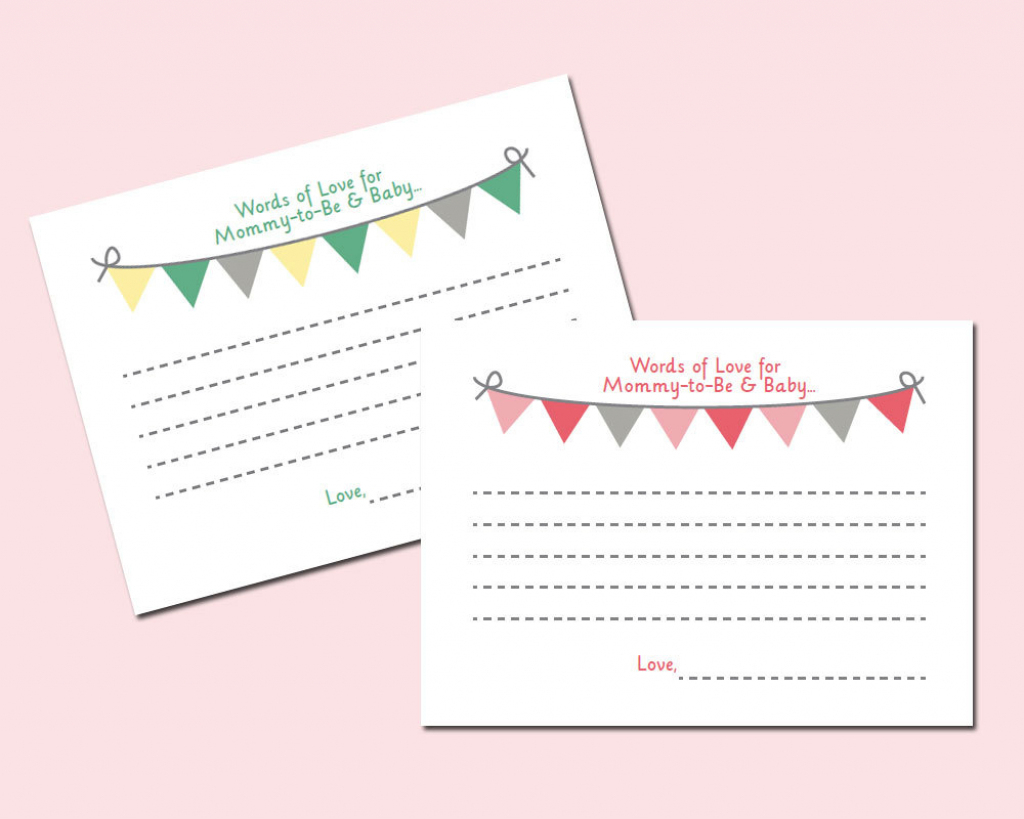 Baby Prediction And Advice Cards Free Printable | Free Printables | Free Mommy Advice Cards Printable