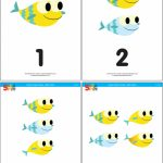 Baby Shark   Counting Flashcards   Super Simple | Printable Baby Flash Cards