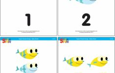 Baby Shark – Counting Flashcards – Super Simple | Printable Baby Flash Cards