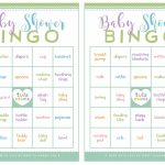 Baby Shower Bingo   A Classic Baby Shower Game That's Super Easy To Plan | Free Printable Baby Shower Bingo Cards Pdf