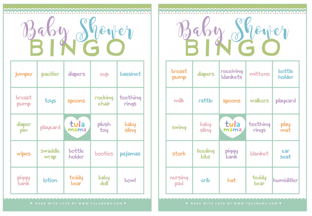 Baby Shower Bingo - A Classic Baby Shower Game That's Super Easy To Plan | Free Printable Baby Shower Bingo Cards