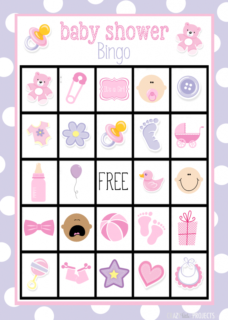 Baby Shower Bingo Cards | 50 Free Printable Baby Bingo Cards
