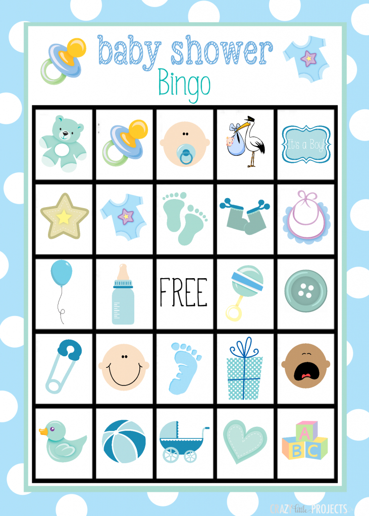 Baby Shower Bingo Cards | Free Printable Baby Shower Bingo Cards